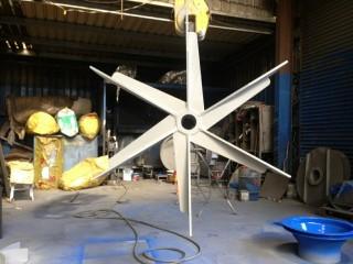 ME Series 6 vane radial impeller 2