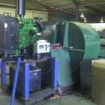 Diesel Motor Coupled to Grainair Fan